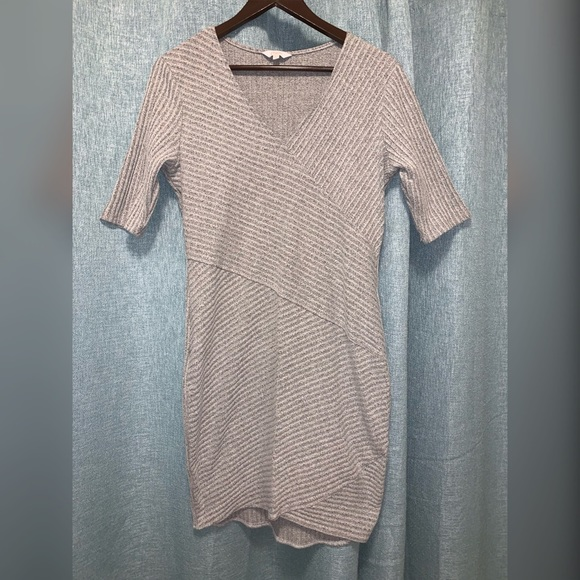 Candie's Dresses & Skirts - Grey Fitted Dress Size XL